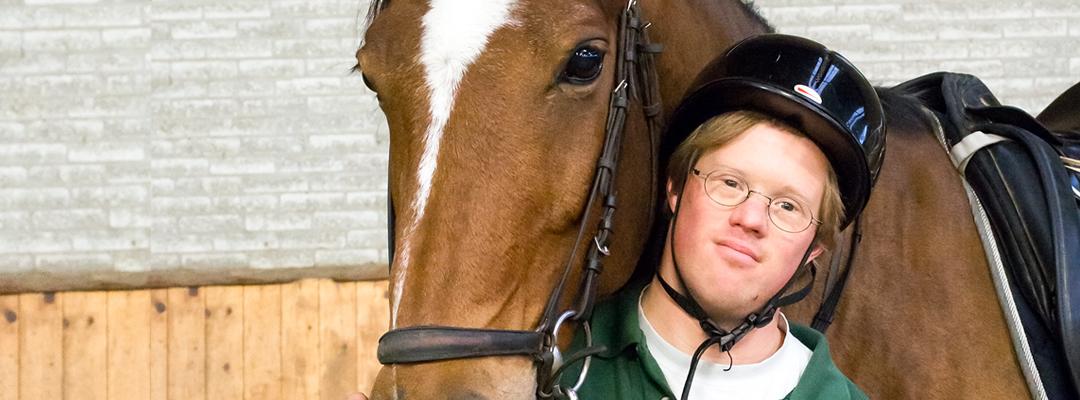 Daan met paard